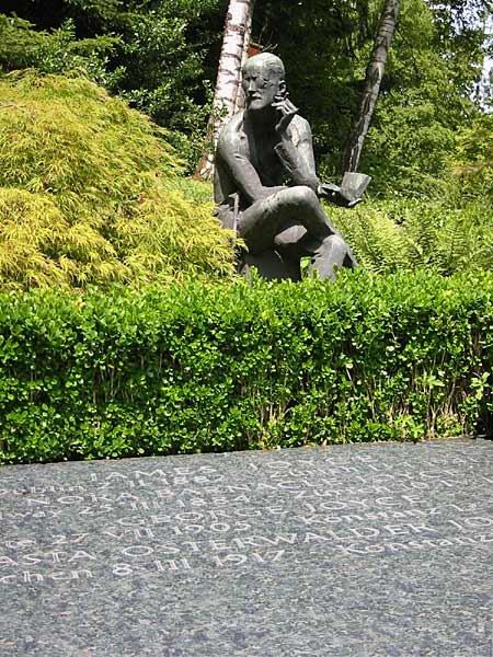 喬伊斯之墓(Lars Haefner@wikipedia/CC BY-SA 3.0)