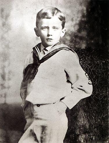 1888年,6歲的喬伊斯(Wikipedia/Public Domain)