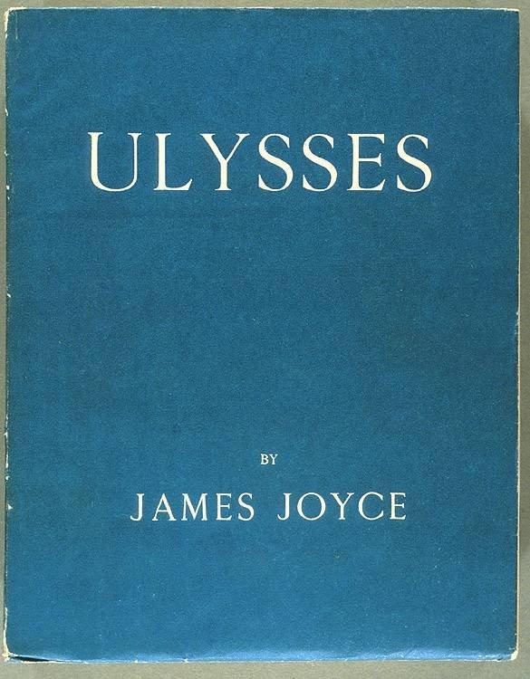 《尤利西斯》初版封面(Wikipedia/Public Domain)