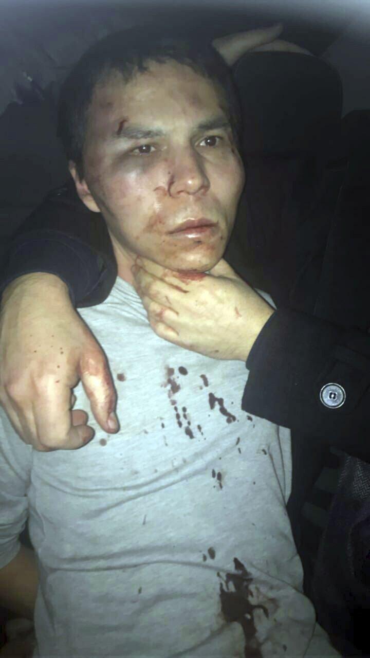 土耳其伊斯坦堡夜店恐攻的烏茲別克主嫌被捕(AP)