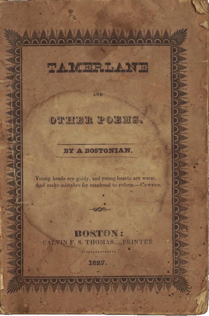 《帖木爾與其他的詩》(Wikipedia/Public Domain)