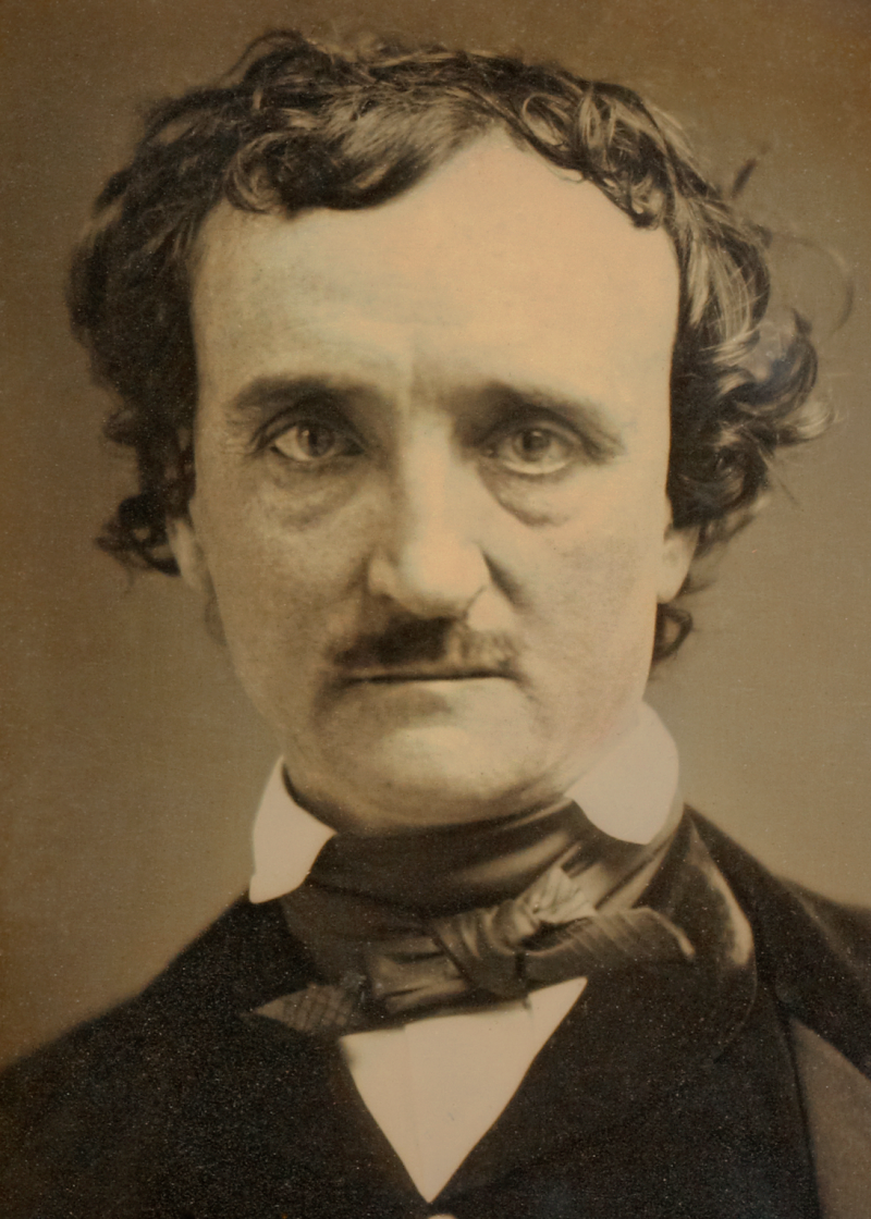 1849年6月的愛倫坡(Wikipedia/PD-US)