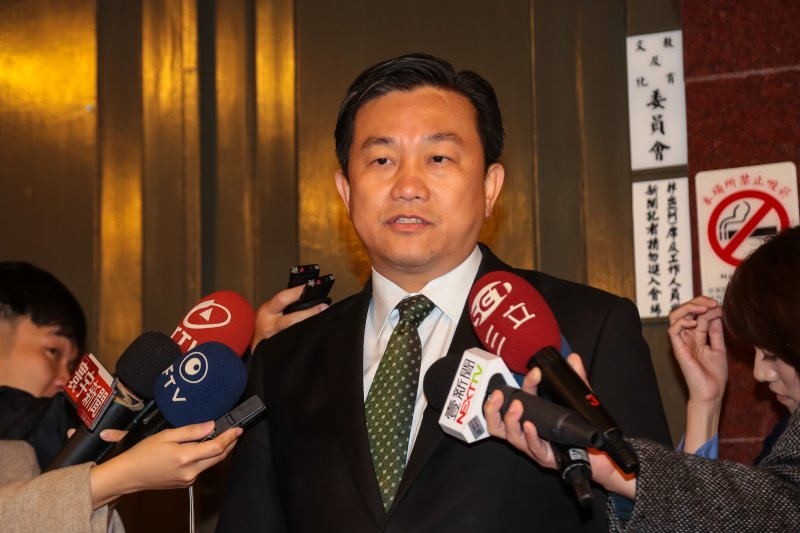 20170119-民進黨立委王定宇19日出席民進黨團大會。(顏麟宇攝)