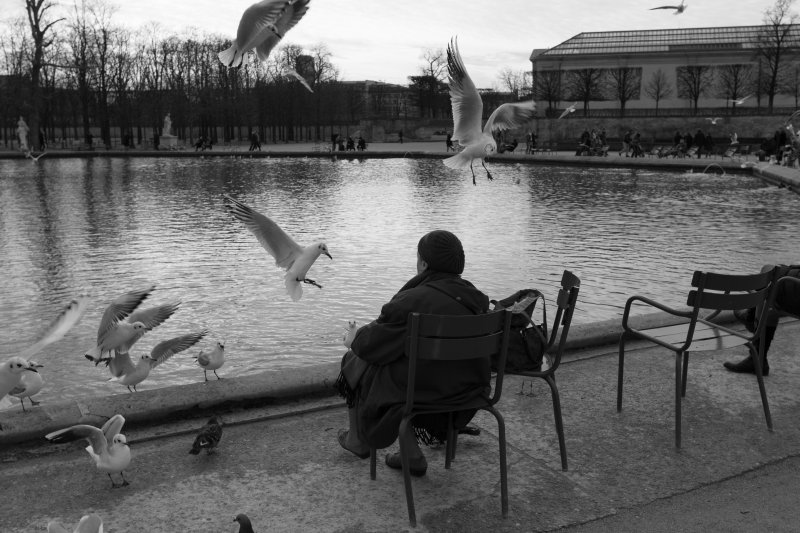 老年人、阿嬤、孤單。(取自flicker@Paulo Valdivieso)