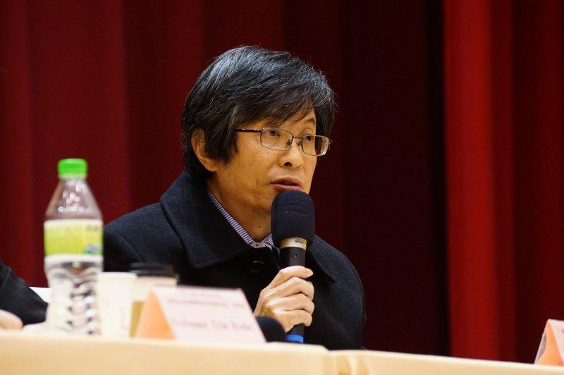 20170123-落實兩公約國際審查及結論性意見座談會,最高法院庭長吳燦發言。(盧逸峰攝)
