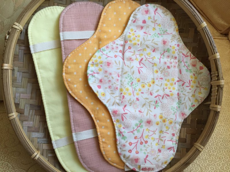 布衛生棉。(圖/取自糖,來了@Facebook)