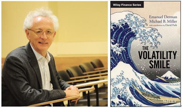 紐約哥倫比亞大學金融工程教授Derman與其新作。(作者提供)