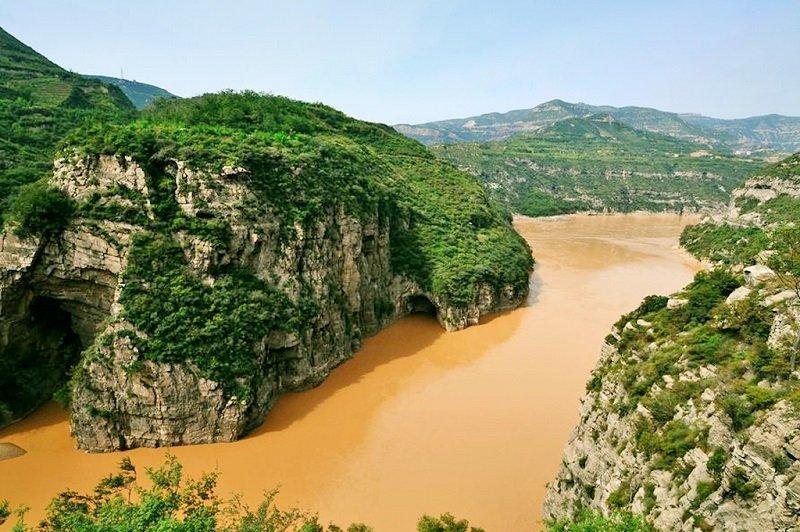 河瀆碑迄今還在韓城古鎮禹王廟邊。(韓城旅遊網)