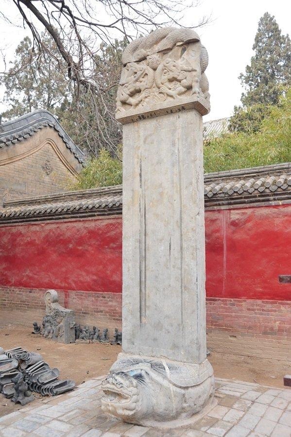 雍正也曾有御製黃河澄清碑。