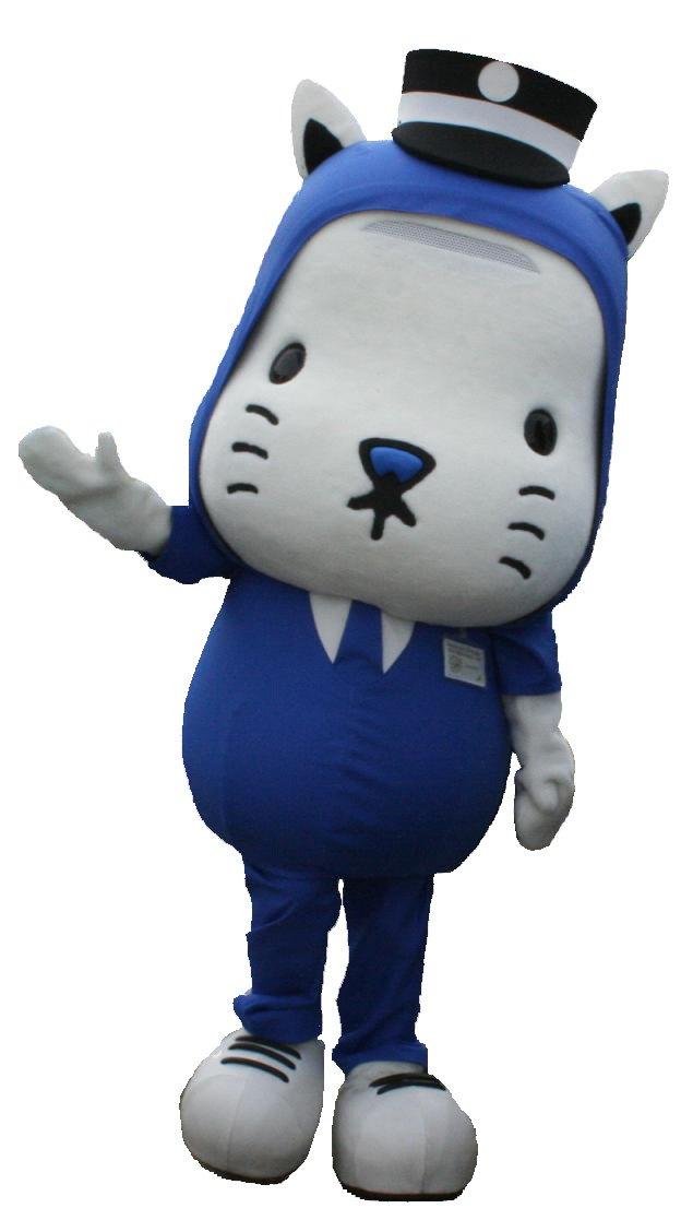 大阪市交通局吉祥物「Nyanbarou努力貓」(取自台北市政府)
