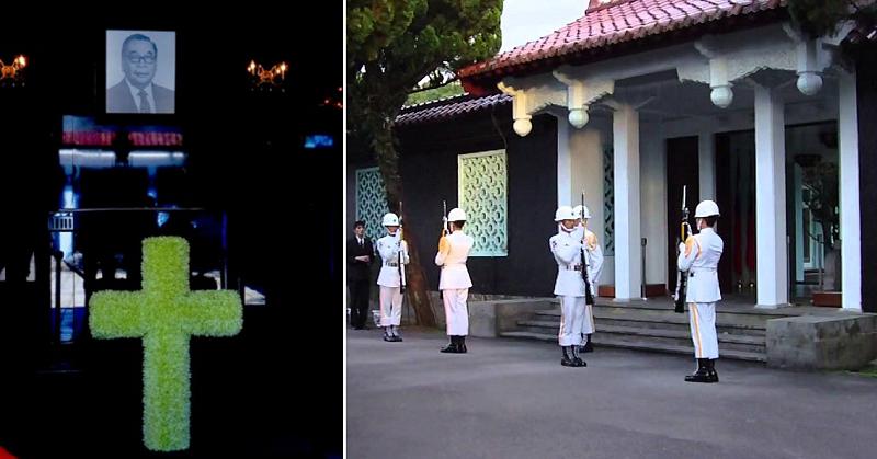 兩蔣也有自己的墓,解嚴後,兩種墓園在台灣並存。(胡發雲提供)