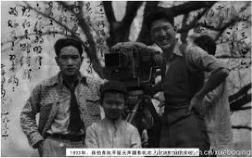 紅羊豪俠傳,是楊小仲導演的武俠黑白電影。(作者提供)