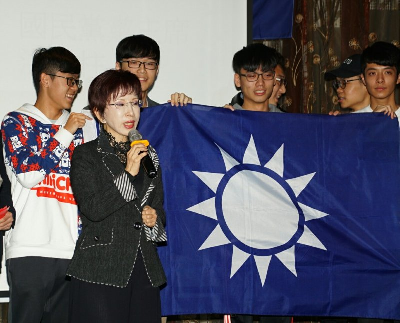 20170207-海事會春酒,洪秀柱出席。(盧逸峰攝)