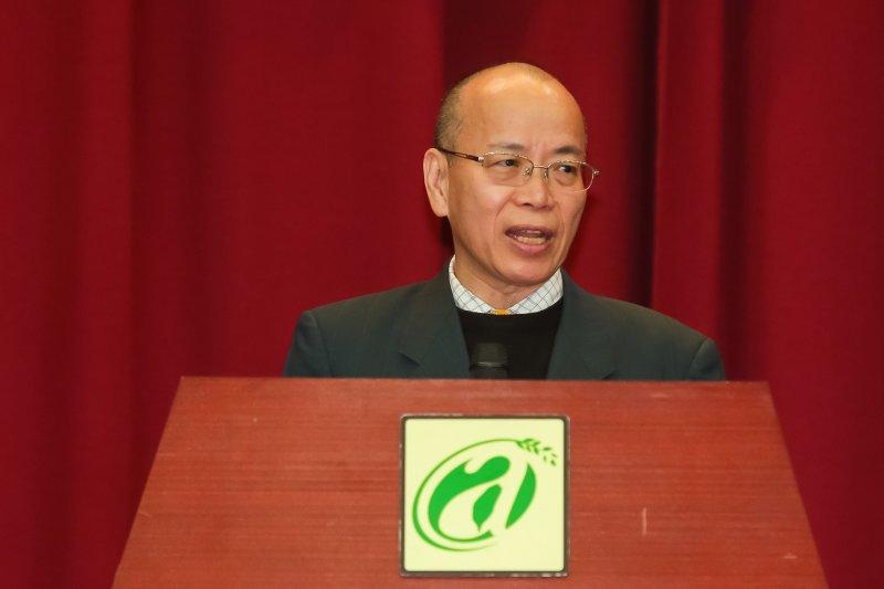 20170208-政務委員張景森8日出席農委會主委交接儀式,並負責監交。(顏麟宇攝)