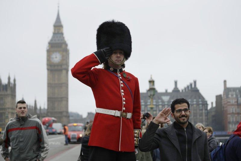英國國會下議院迅速通過脫歐法案,距離啟動脫歐只剩一小步。(美聯社)