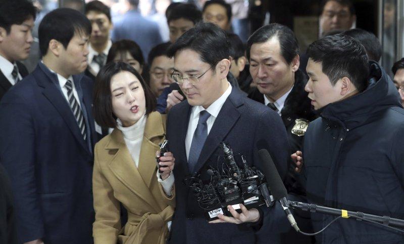 南韓三星電子副會長李在鎔(AP)