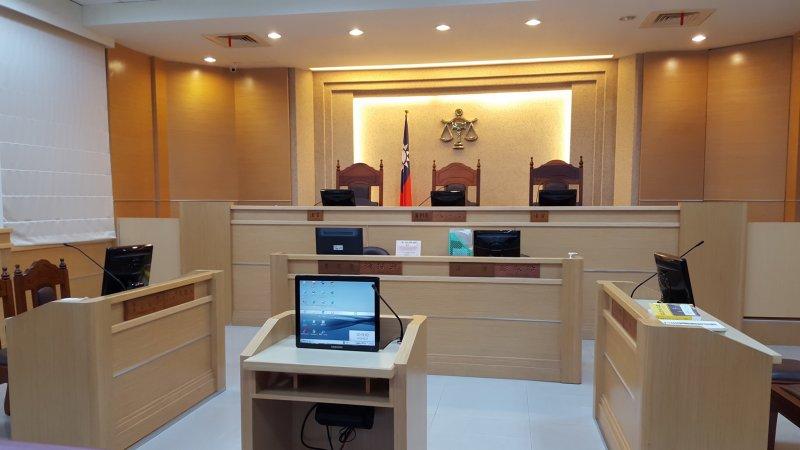 苗栗地方法院家事庭(圖片來源:勵馨基金會,想想論壇提供)