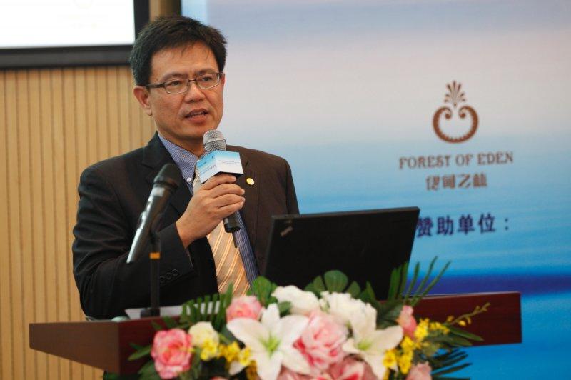 交通大學教授俞明德。(取自交大網站)
