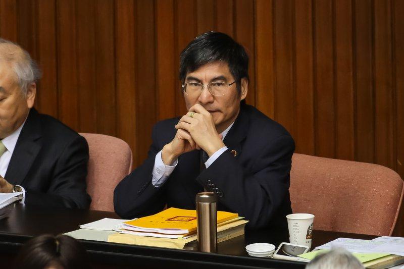 20170217-科技部長陳良基17日至立院出席施政報告總質詢。(顏麟宇攝)