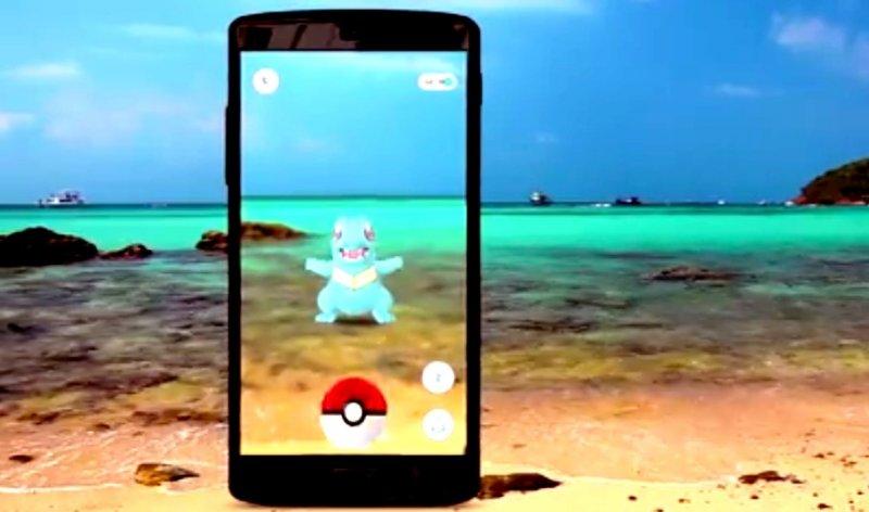 (圖擷取自Pokémon Go預告片)