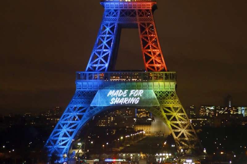法國,巴黎,艾菲爾鐵塔(AP)