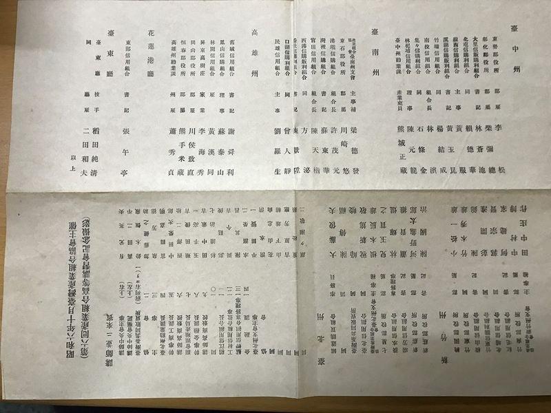 「昭和六年十月台灣產業組合協會主催(第六回產業組合高等講習會紀念撮影)」文件。
