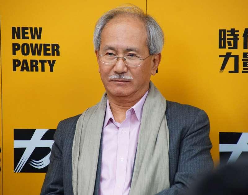 20170221-時代力量中央黨部媒體茶敘,林世煜出席。(盧逸峰攝)