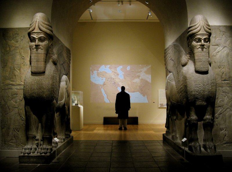 伊拉克博物館多年來屢遭戰爭蹂躪,倖存館藏今年首次在海外展出。(圖/XuanChe@flickr)