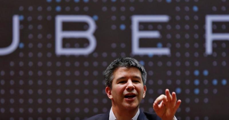 Uber執行長卡拉尼克(Travis Kalanick)下令調查性騷擾一事。(截圖自youtube)