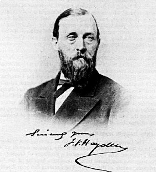 博物學家海登。(wikipedia/public domain)