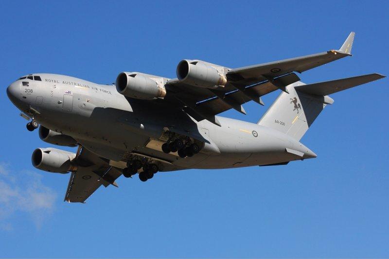 C-17運輸機。(圖/DuanZhu@wikipedia)
