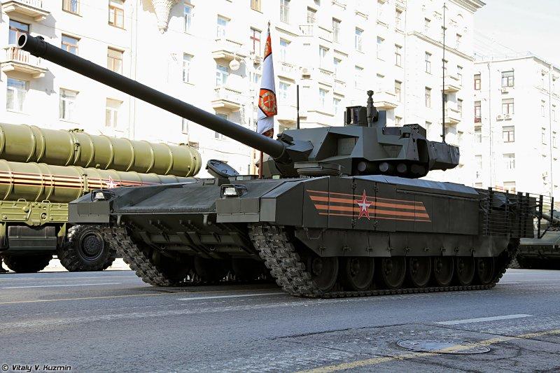 俄羅斯T-14主力戰車。(圖/Vitaly V. Kuzmin@wikipedia)