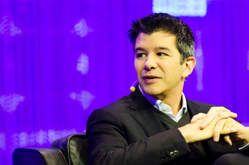 Uber創辦人兼執行長卡拉尼克。(圖/Heisenberg Media@wikipedia)