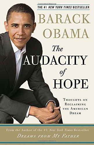 歐巴馬的著作《無畏的希望:重申美國夢》。(截圖自Amazon.com)