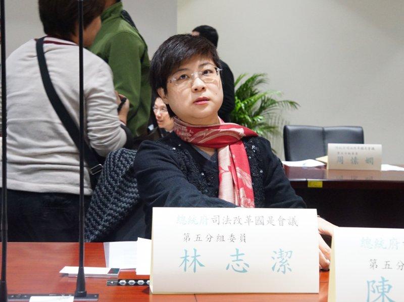20170302-司法改革國是會議:第五組會議,委員林志潔。(盧逸峰攝)