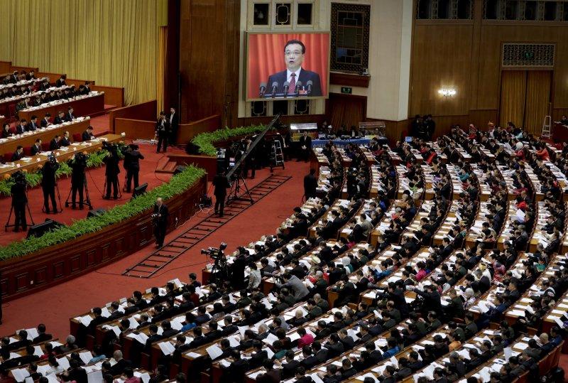 中國「兩會」(全國人民代表大會、政治協商會議)3日在北京登場(AP)