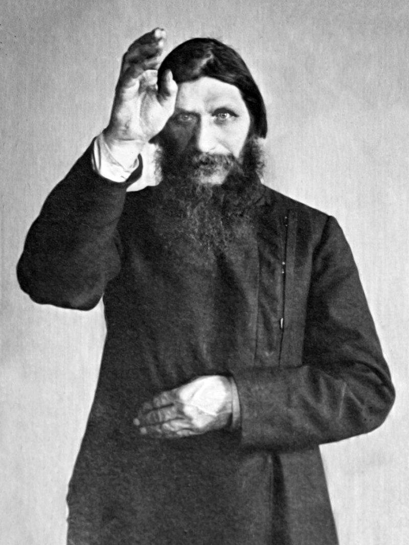 俄羅斯「妖僧」拉斯普京(Rasputin)(Wikipedia / Public Domain)