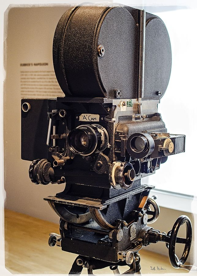 史丹利.庫柏力克用過的攝影機(Seth Anderson@wikipedia/CC BY-SA 2.0)