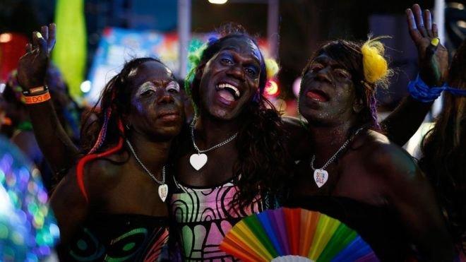 蒂維島的變性團體成功通過眾籌集資,讓30名成員首次來參加此次的雪梨狂歡。(BBC中文網)