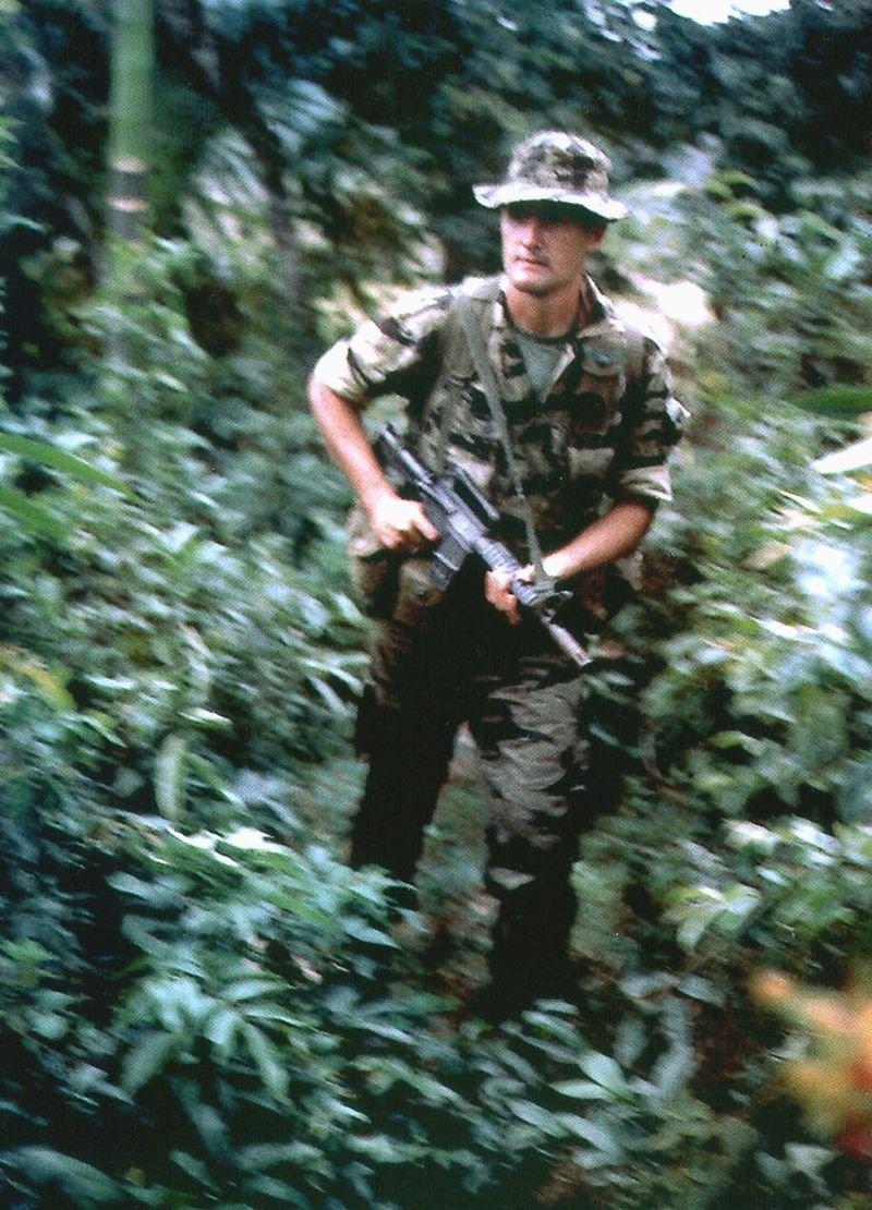 1967年在越南作戰的美軍士兵。(wikipedia/public domain)
