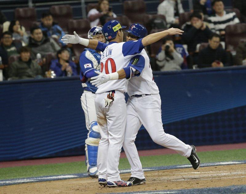 世界棒球經典賽(WBC),中華隊與地主南韓鏖戰10局,以8比11輸掉比賽(美聯社)