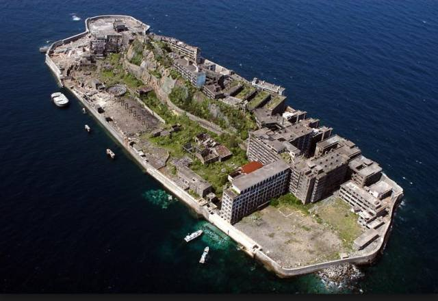 位於長崎的軍艦島。(圖/長崎新玩,Klook客路提供)