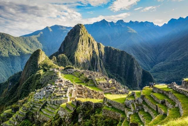 在山頂上的馬丘比丘。(圖/Mark Zukowski @flickr,Klook客路提供)