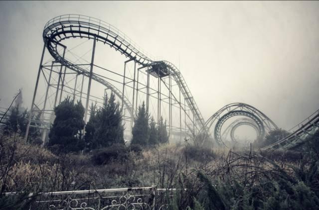 關閉超過10年的奈良夢幻樂園。(圖/Chris Luckhardt @flickr,Klook客路提供)