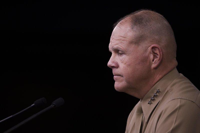 美國海軍陸戰隊指揮官奈勒呼籲受害者勇於出面指控。(AP)
