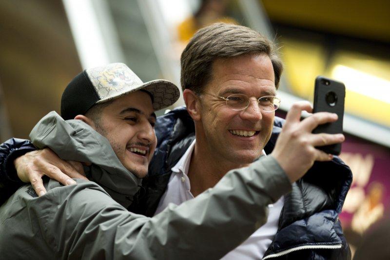 荷蘭國會大選:中間偏右「自由民主人民黨」(VVD)黨魁呂特(AP)