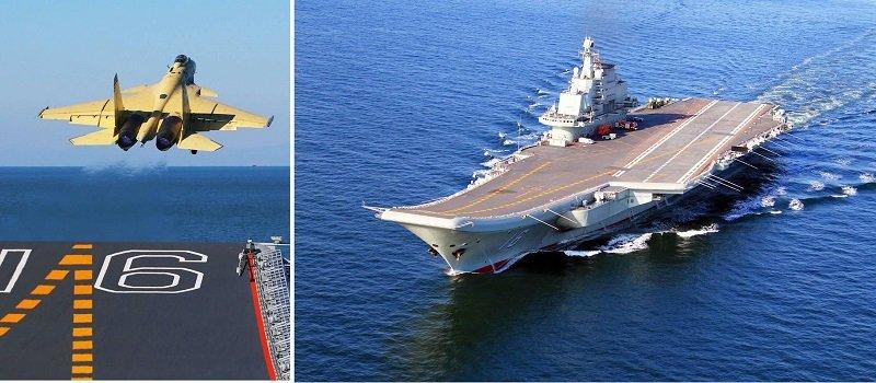 解放軍去年連連走向「遠洋」,遼寧艦穿過宮古海峽最受矚目。(作者提供)