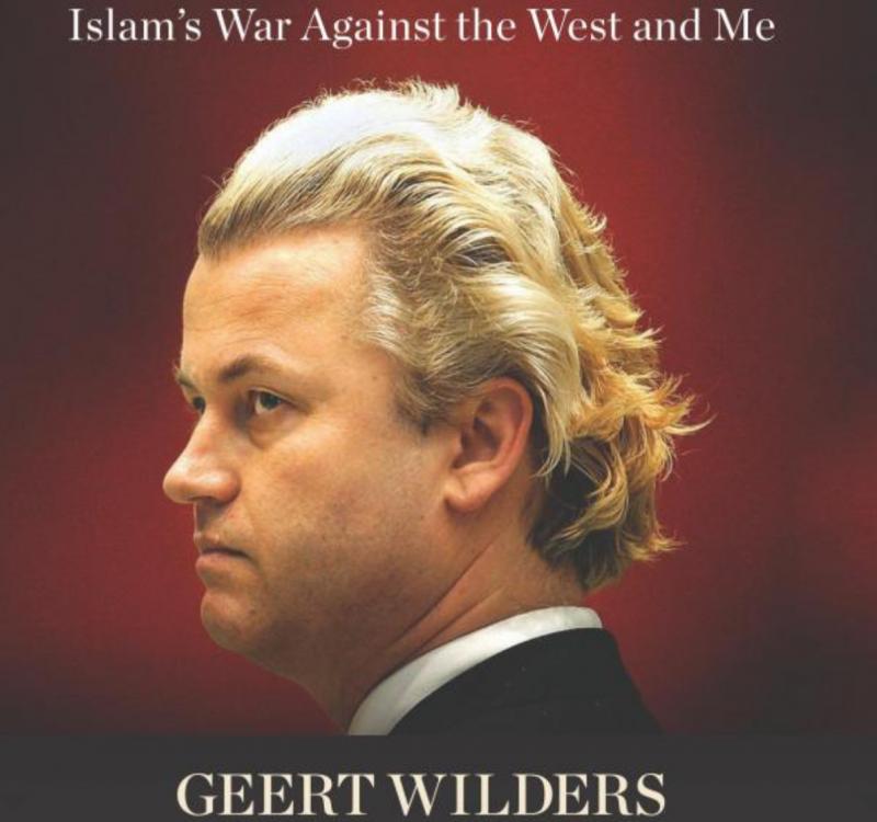 威爾德斯的著作《向我和西方世界宣戰的伊斯蘭戰爭》。(截圖自網路)