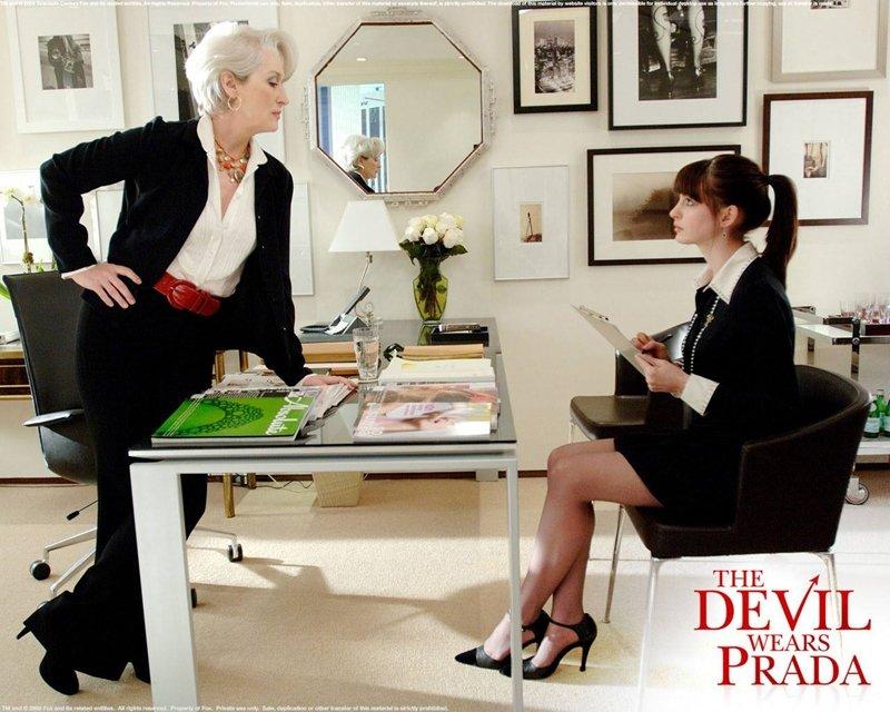 穿著Prada的惡魔(圖/取自Facebook粉絲專頁)