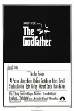 《教父》上映時的海報。(wikipeida/fair use)